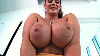 Alison Tyler gets her huge melons licked and worshipped Thumbnail