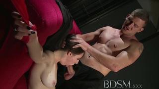 BDSM XXX Beautiful sex hungry sub has her tight hole Thumbnail