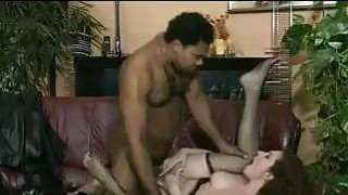 Interracial Banging On The Couch Thumbnail