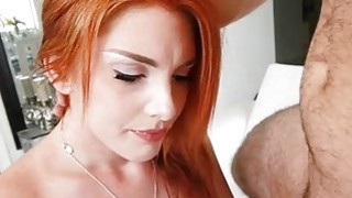 Hot gf sucks hard rod to have a fun wild sex