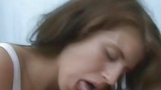 Drunk brunette fucked in a tent Thumbnail