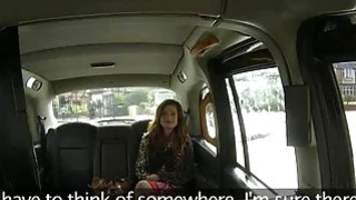 Fraud driver fucking her sexy passenger in the backseat Thumbnail