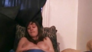 Lonely brunette with nice tits having fun with her favorite vibrator Thumbnail
