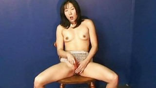 Fantastic Asian babe rubbing on her wet pussy all Thumbnail