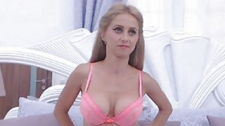 Lovely Chick with Pink Pussy Masturbate Thumbnail