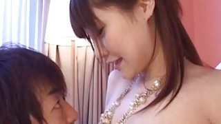 Rowdy Misuzu gets her wet pussy licked passionately and sucks dick Thumbnail