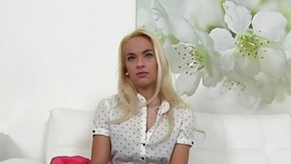 Fake agent shoves dick into blondes cunt in casting Thumbnail