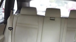 Czech amateur babe fucks in fake taxi Thumbnail