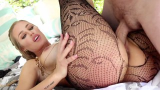 Pretty Nicole Aniston gets banged out in the sun Thumbnail