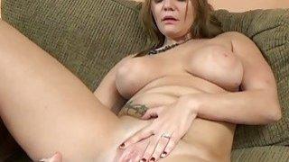 Tonya Sinn uses a big toy on her wet pussy Thumbnail