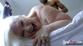 AgedLovE Lacey Starr Interracial Hardcore Sex