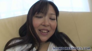 Pussy of Hideko Okura looks so seductive through her panties Thumbnail